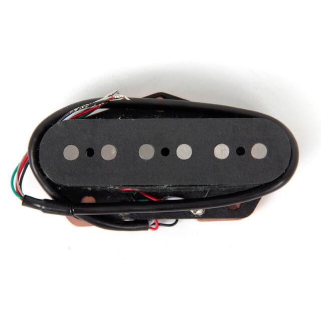 Bridge Pickup Alnico 5 for Electric Guitar Parts Replacement Black