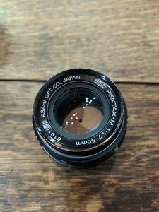 PENTAX-SMC-Pentax-M-50mm-F1-7-Lens