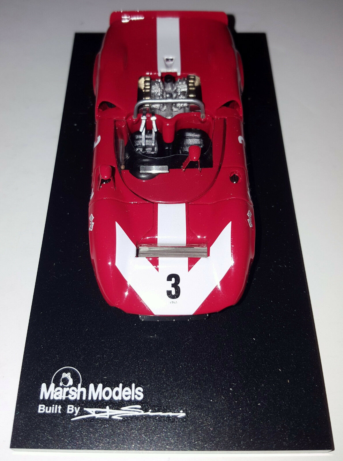 Marsh Models MM24 1 43 1966 Can Can Can Am Riverside Lola T70 Mk.II Spyder 3 Graham Hill a1719b