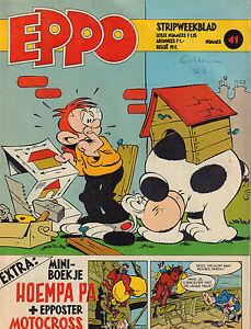 STRIPWEEKBLAD-EPPO-1978-nr-41-MINI-BOEKJE-HOEMPA-PA-STORM-ROODBAARD