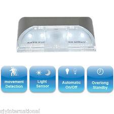 1x New Auto PIR Door Keyhole IR Motion Sensor Detector 4 LED Light Lamp Bulb