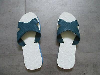 ##pantoletten Badeschlappen Gr. 40/41 Blau Duftendes Aroma