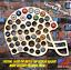 Football-Helmet-Custom-Beer-Pop-Cap-Holder-Traps-NFL-Browns-Cowboys-Steelers thumbnail 1