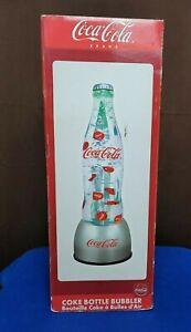 """Coca Cola Bottle Bubbler Lamp 21"""""""