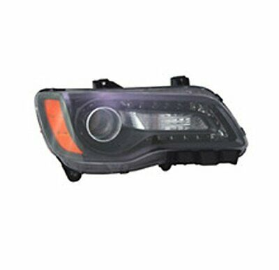 TYC 20-9218-90-9 Replacement Left Head Lamp for Chrysler 300