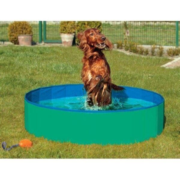 Karlie DOGGY POOL der Swimmingpool für Hunde - Grün-Blau - 80 cm  | Guter Markt