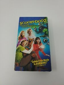 Scooby Doo 2 Monsters Unleashed Vhs 2004 85392839735 Ebay