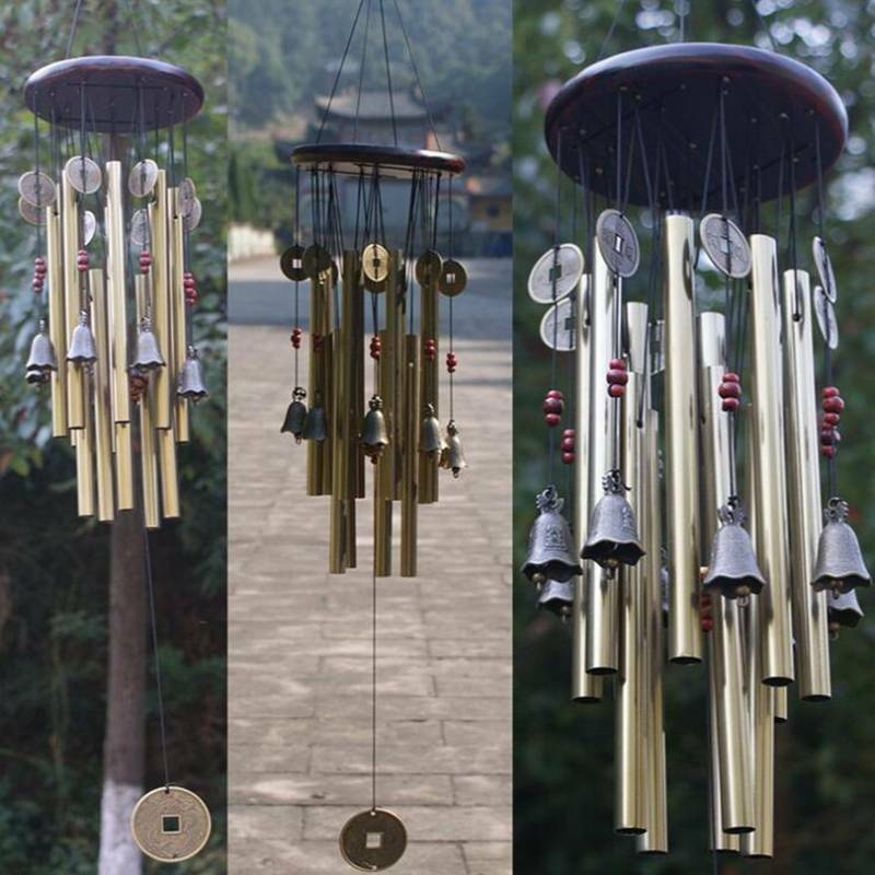 Traditional Wind Chimes Chinese Amazing Tubes bells Home Garden Decor J