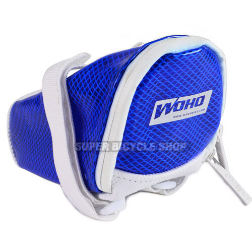 Blue Size:M WOHO FIREFLY Bicycle Saddle Bag