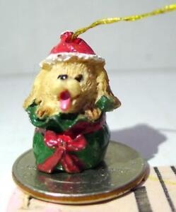 Brown-Dog-Christmas-Miniature-Christmas-Ornament