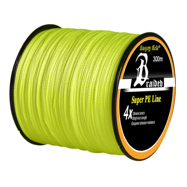 300m 20lbs Super Strong Extreme PE Sea Fishing Line Green Abrasion Resistant CA