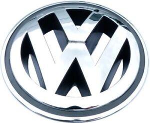 VW-Golf-Jetta-Passat-Cc-Tiguan-150mm-Rejilla-Emblema-Cromado-Insignia-1K5853600
