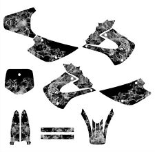 KX85 KX100 graphics kit for 2001 - 2013 Kawasaki Dirt Bike #9500 Metal Zombie