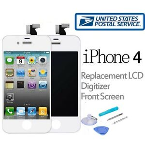 Replacement-LCD-Touch-Screen-Digitizer-Front-Glass-Assembly-For-iPhone-4-White