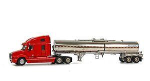 Sword 1/50 Camion Us Freightliner Semi Citerne Brenner Rouge!!!!