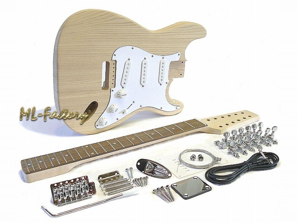 E-Gitarren-Bausatz ML-Factory® Style I  12-saitig
