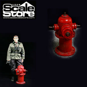 1-6-Scale-Red-Fire-Hydrant-Modell-p0013-1-Do-it-yourself-Zubehoer-fuer-12-034-Action-Figur