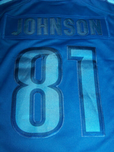 Lions Jersey 81 Johnson al Men's Detroit Lions menor Calvin 135 Venta por Nwt Nike Small tFgqZwZ