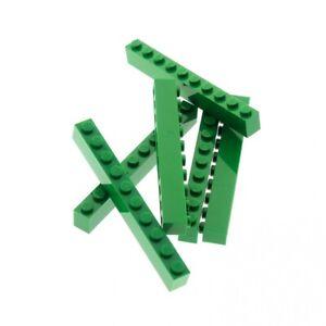 6-x-Lego-System-Basic-Bau-Stein-gruen-1x10-Steine-Set-60101-7939-2162-4159943-611