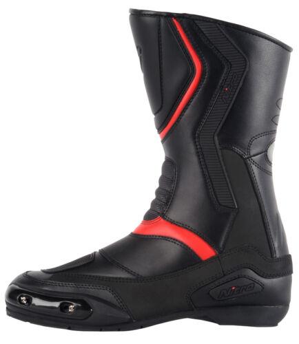 Nitro NB-41 Waterproof Leather Sport Touring Urban Motorbike Motorcycle Boots
