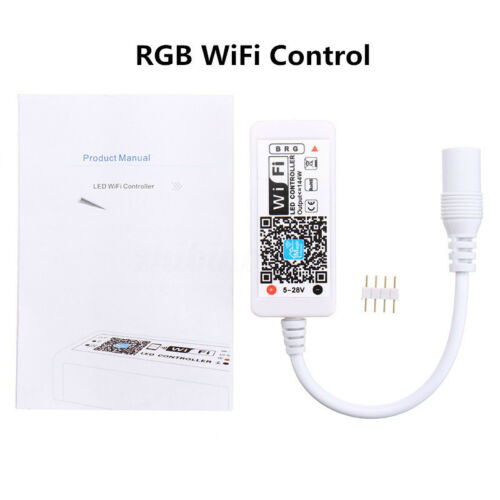 Wifi RGB RGBW Led Controller Steuerung Fernbedienung für Android IOS Echo Alexa