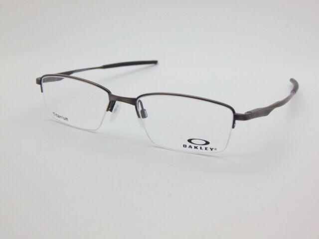 ce4030fcfc6 NEW OAKLEY LIMIT SWITCH 0.5 OX5119-0352 Satin Toast Titanium 52mm Rx  Eyeglasses