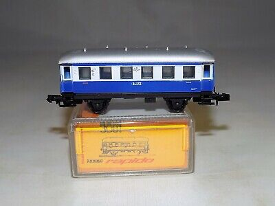 N Scale Arnold 3081 White//Blue 471 PPE Tolz 2nd Class Passenger Car