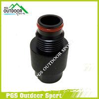 Paintball Pcp Airsoft Airgun Air Tank Regulator Thread Saver On/off Asa Adaptor