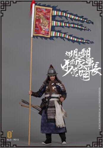 walk camp guard leader Figure Kongling Pavilion 1//6 Scale KLG-R013 Qi troop