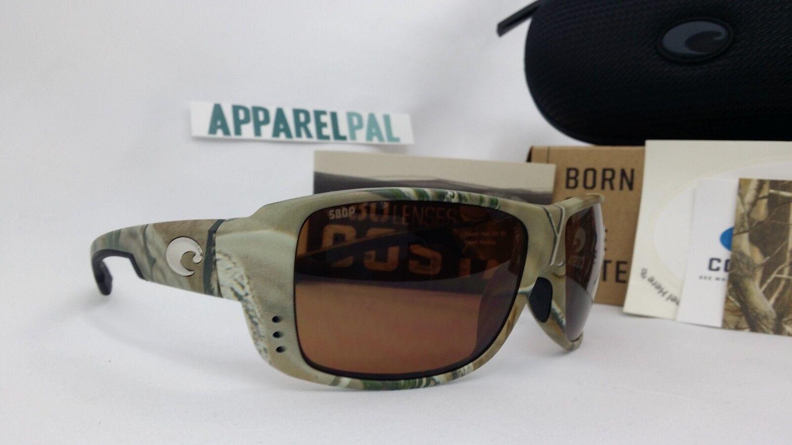 Costa del Mar Double Haul Polarized Polarized Polarized Sunglasses Realtree Camo/Copper 580P Fishing 98967c