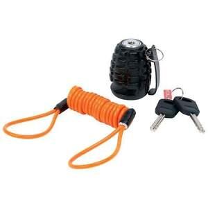 New-Motorcycle-Grenade-Disc-Brake-Wheel-Lock-Heavy-Duty-Biker-Security-2-Keys