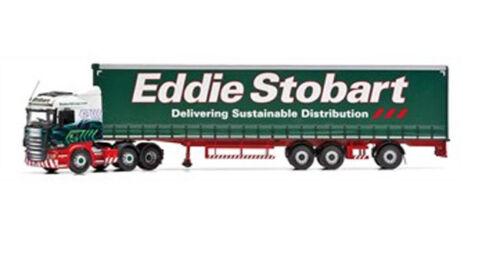super-schiebeplanen-tráiler Eddie STOBAR Face Lift Cc13747 1:50 Corgi scania R