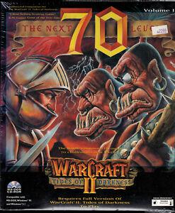 PC-Big-Box-CD-ROM-Game-The-Next-70-Levels-for-Warcraft-II-1996-Maverick-NIB-NOS