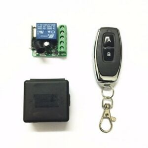 1CH-Relay-Receiver-RF-Transmitter-433Mhz-Wireless-Remote-Control-Switch-DC-12V