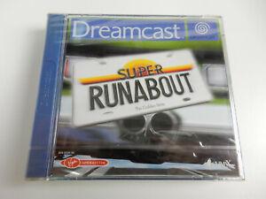 Super Runabout für Sega Dreamcast - CIB - Neu in Folie !