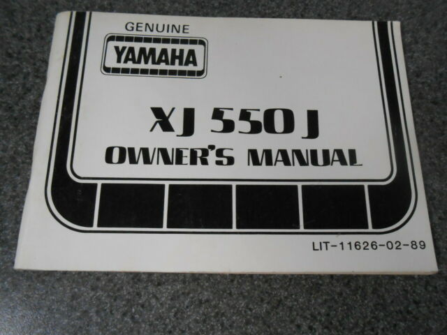Yamaha Owners Manual W   Wiring Diagram 1985 Xj550 J Xj550j Lit
