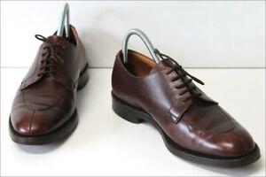 JOHN-SPENCER-Derby-Richelieu-Vintage-Tout-Cuir-England-T-7-40-5-TBE