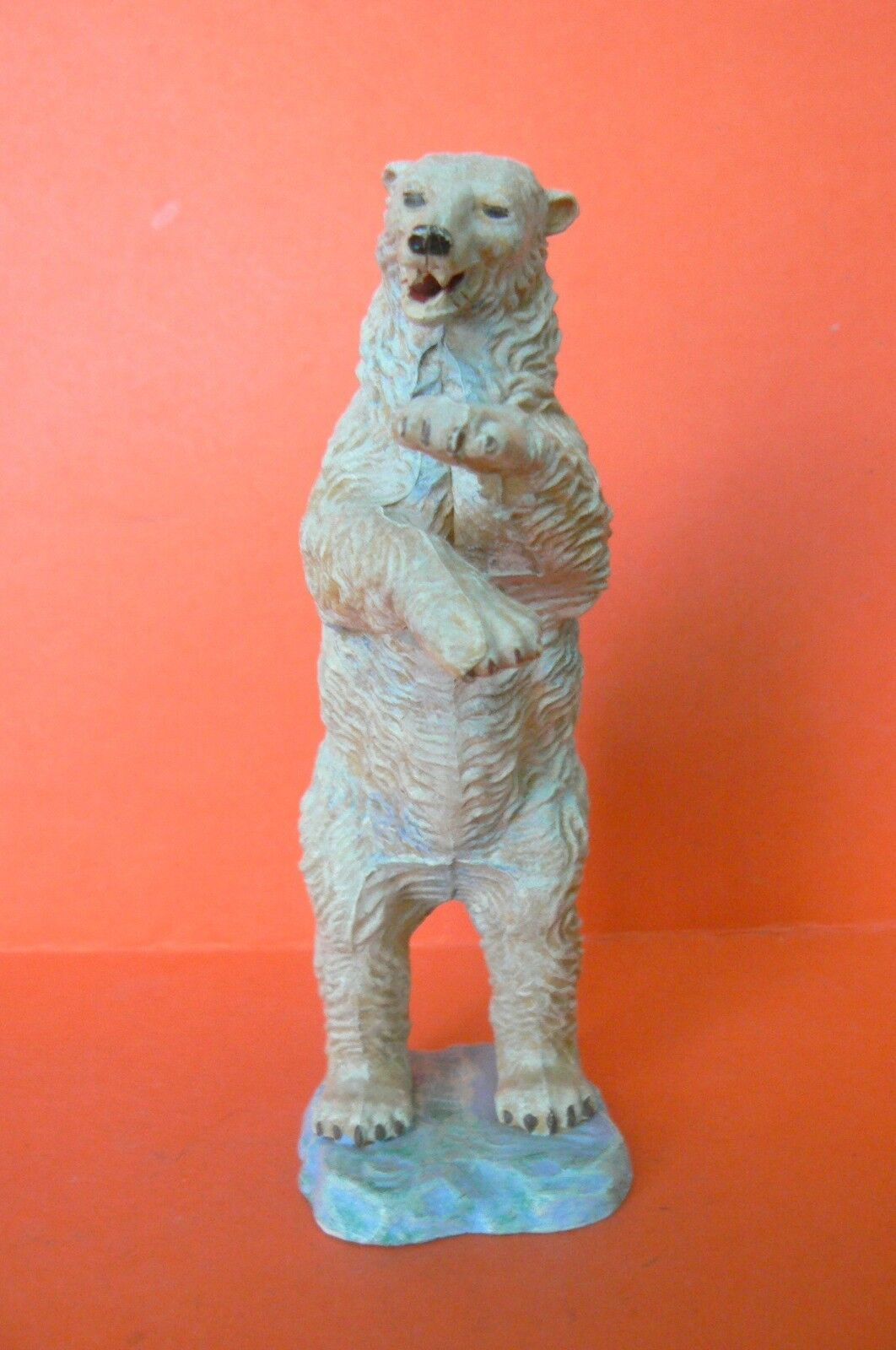 ELASTOLIN   CIRCUS OR ANIMALS SAUVAGES   GRAND BEAR POLOLAIRE STANDING