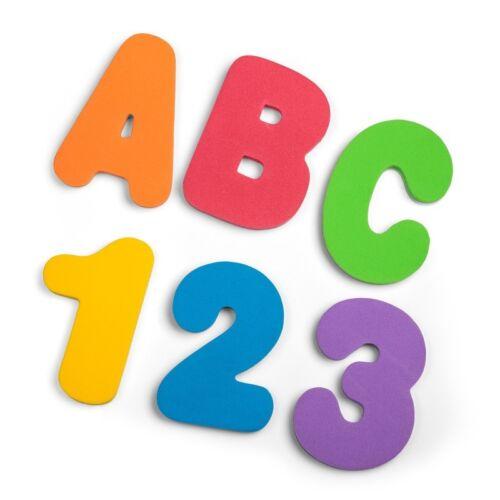 Lettre et Nombre Bain Autocollants 29667 36 Mousse Alphabet Numéro Heure Du
