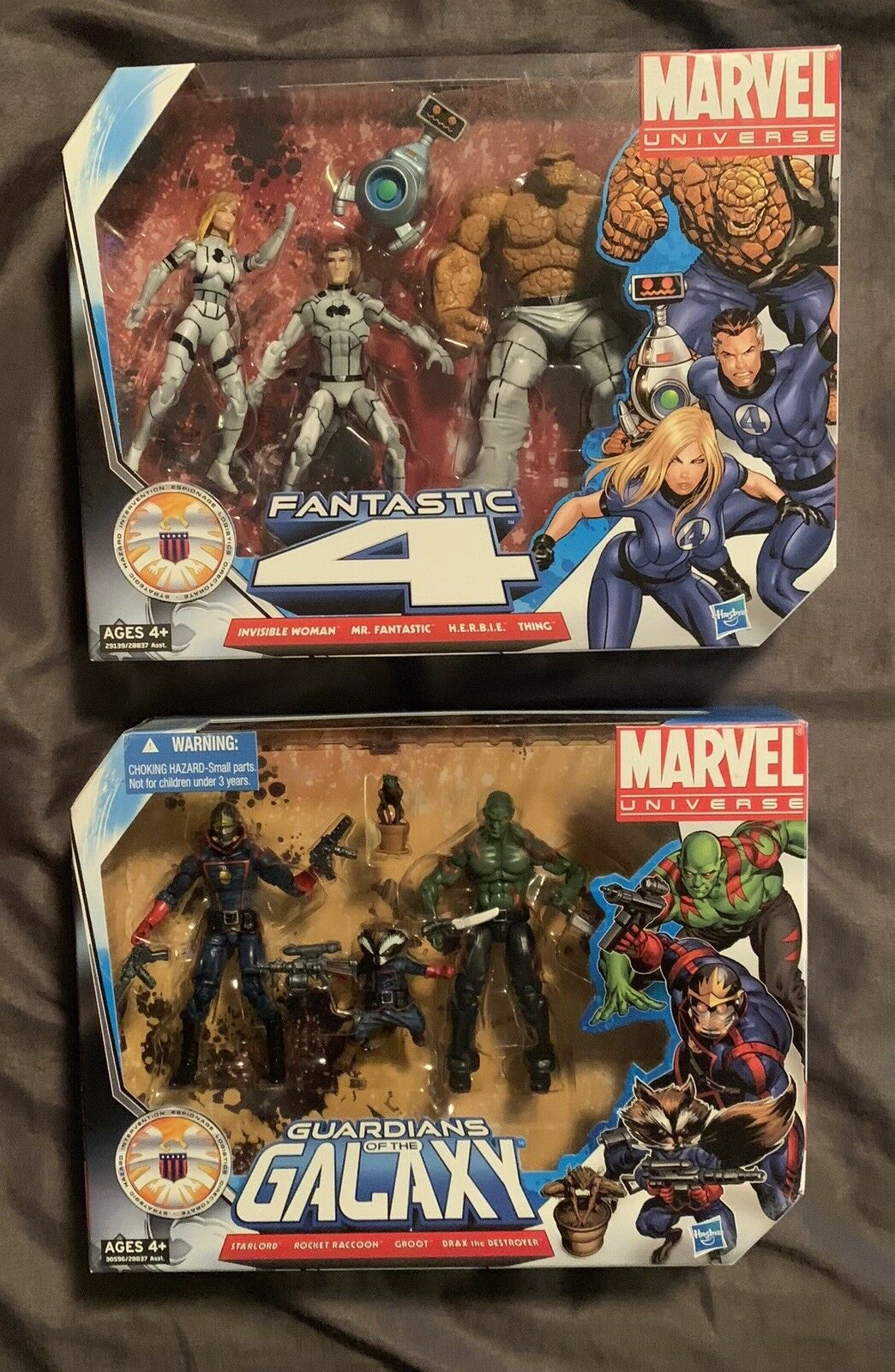 Marvel Universe Fantastic 4 (Future Foundation Variant) Guardians of The Galaxy