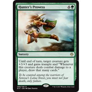 4x Hunter/'s Prowess x4 Lot Archenemy Nicol Bolas Magic the Gathering MTG