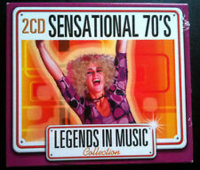 LEGENDS IN MUSIC COLLECTION - SENSATIONAL 70'S - 2 CD NEUF -