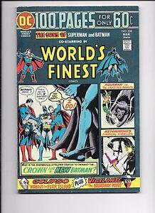 World-039-s-Finest-228-April-1975-100-page-giant-Superman-Batman-Aquaman-Eclipso