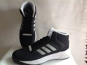 Black Ilation 6 Mens 12 Adidas Cloudfoam Mid About Silver Shoes Sz Details White Basketball 80POXnwk