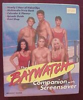 1990's - The Baywatch Companion With Screensaver - Cello Sealed Baywatch Tv