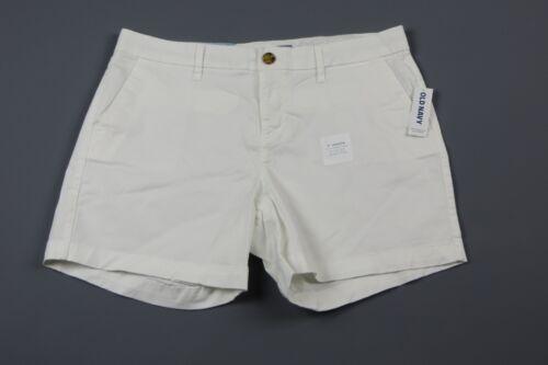 "OLD NAVY White 5/"" shorts Size 16 NWT"