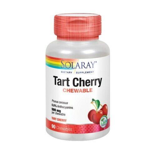Tart Cherry 90 Chews 500 mg by Solaray