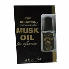 The Original Natural Musk Oil Perfume 0.5 oz By Cabot Labs