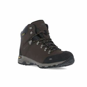 Trespass-Mens-Hiking-Boots-Ankle-Waterproof-Walking-Leather-Shoes-Gerrard