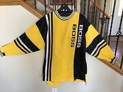 """Men's Sports Jersey, long sleeve, vintage """"BOSS"""" logo   eBay"""